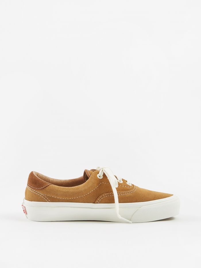 Vans Vault OG Era 59 LX - (Suede) Tobacco Brown/Monks Robe (Image 1)