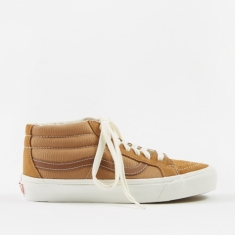 Vans Vault OG Sk8-Mid LX - (Suede) Tobacco Brown/Monks Robe