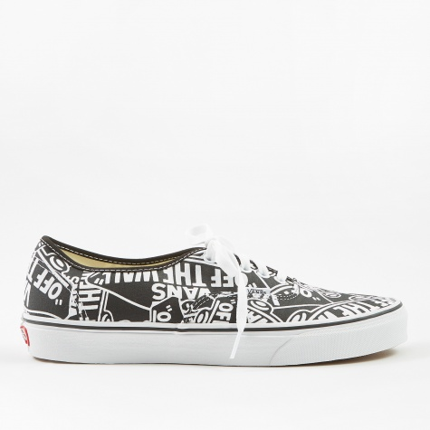 Authentic - (OTW Repeat) - Black/True White