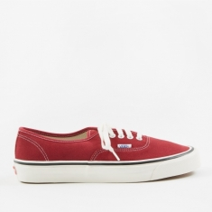 Vans Authentic 44 DX - (Anaheim Factory) OG Brick/Suede