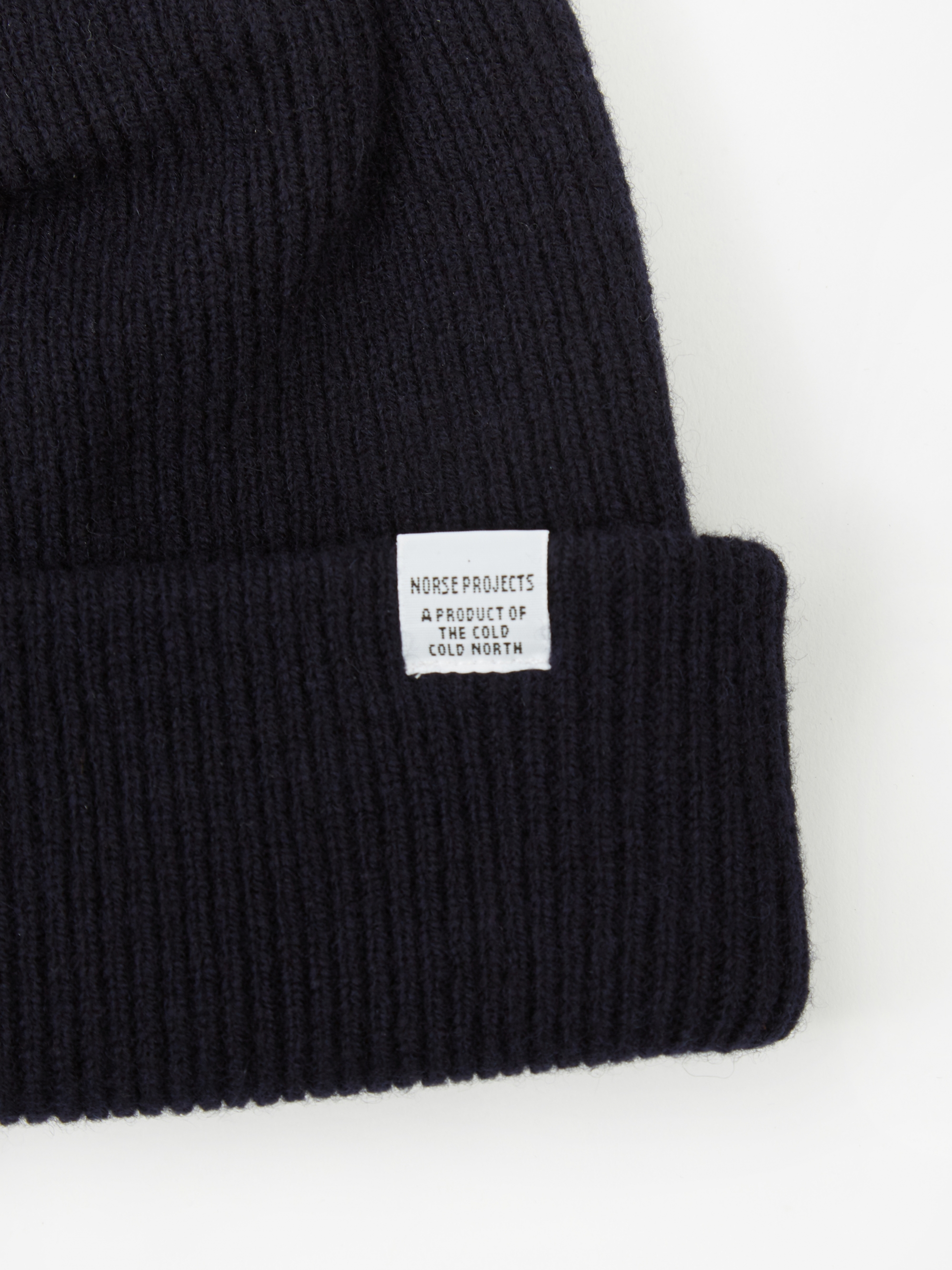 4a508609cce Norse Projects Norse Beanie - Dark Navy