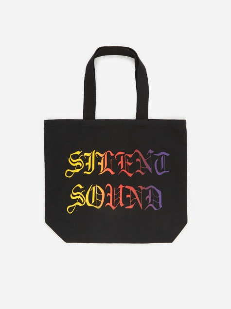 Logo Tote Bag - Black/Sunset