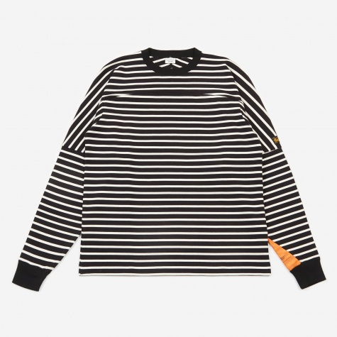 Borderz L/S Top - Black