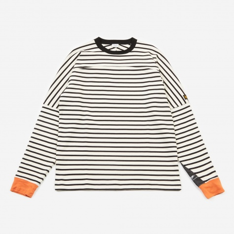 Borderz L/S Top - White