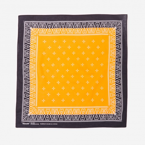 Bandana - Black/Orange
