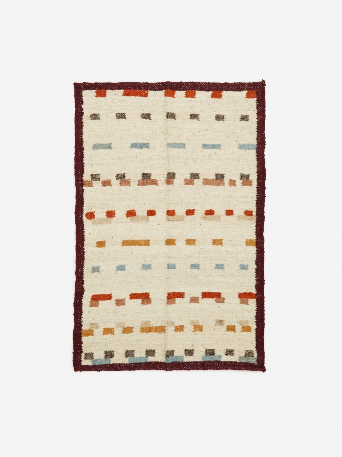 MINNA Goods Wandering Mark Rug - Grey (Image 1)