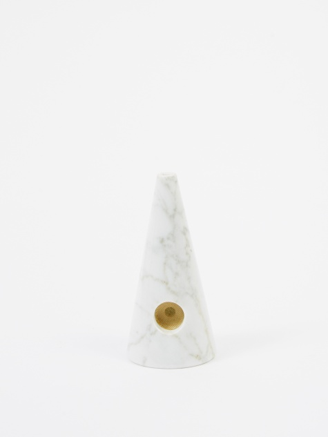 Marble Pipe - White