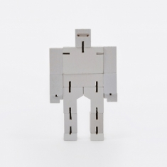 Areaware Micro Cubebot - White