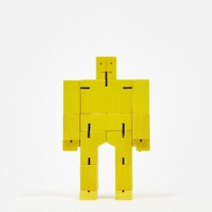 Areaware Cubebot Micro - Yellow