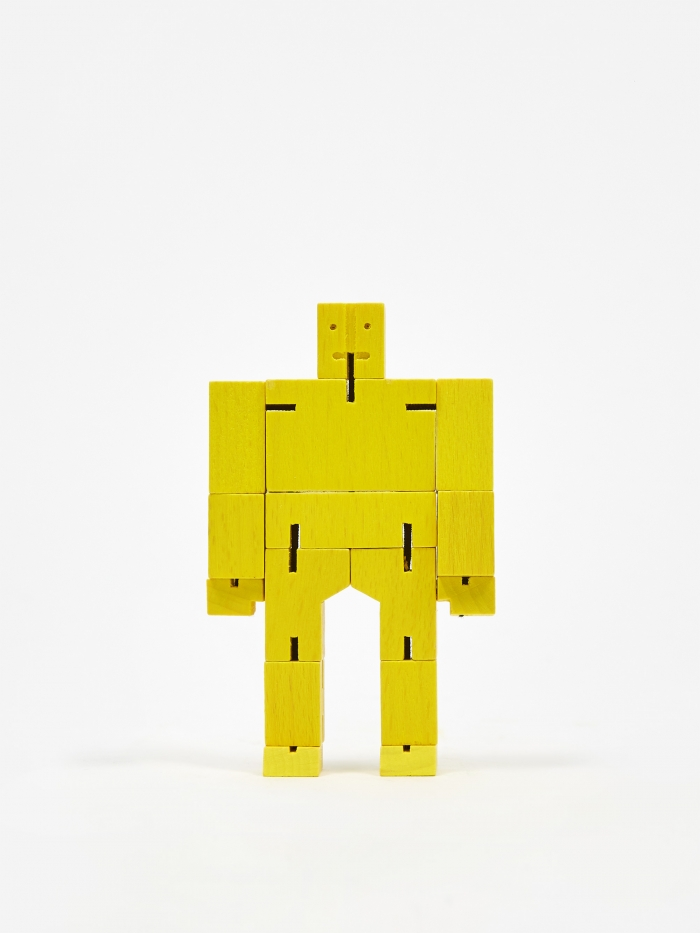 Areaware Cubebot Micro - Yellow (Image 1)