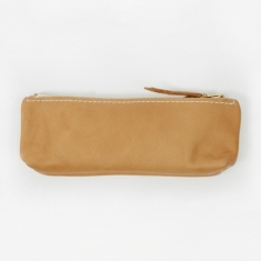 Simon Tuntelder Smooth Leather Pencil Case - Natural