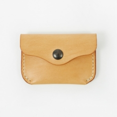 Simon Tuntelder Leather Coin Wallet - Natural