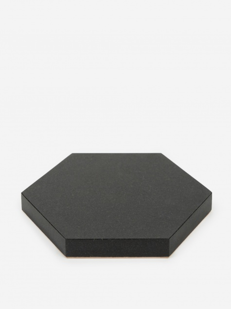 Black Stone Trivet - Hexagon