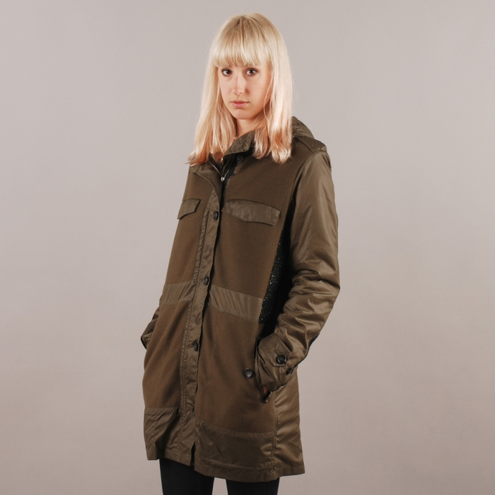 Surface To Air Prezo Parka - Dark Olive (Image 1)