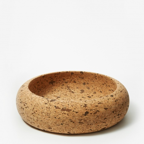 Natural Cork Bowl - Speckled Cork