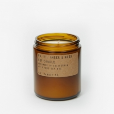 P.F. Candle Co. No. 11 Amber & Moss 7.2oz Soy Candle