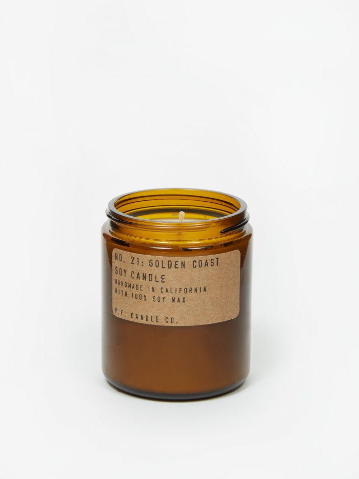 P.F. Candle Co. No. 21 Golden Coast 7.2oz Soy Candle (Image 1)