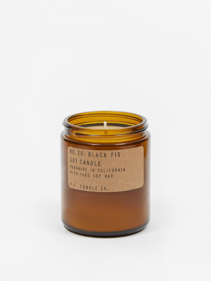 P.F. Candle Co. No. 28 Black Fig 7.2oz Soy Candle (Image 1)