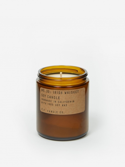 No. 30 Irish Whiskey 7.2oz Soy Candle