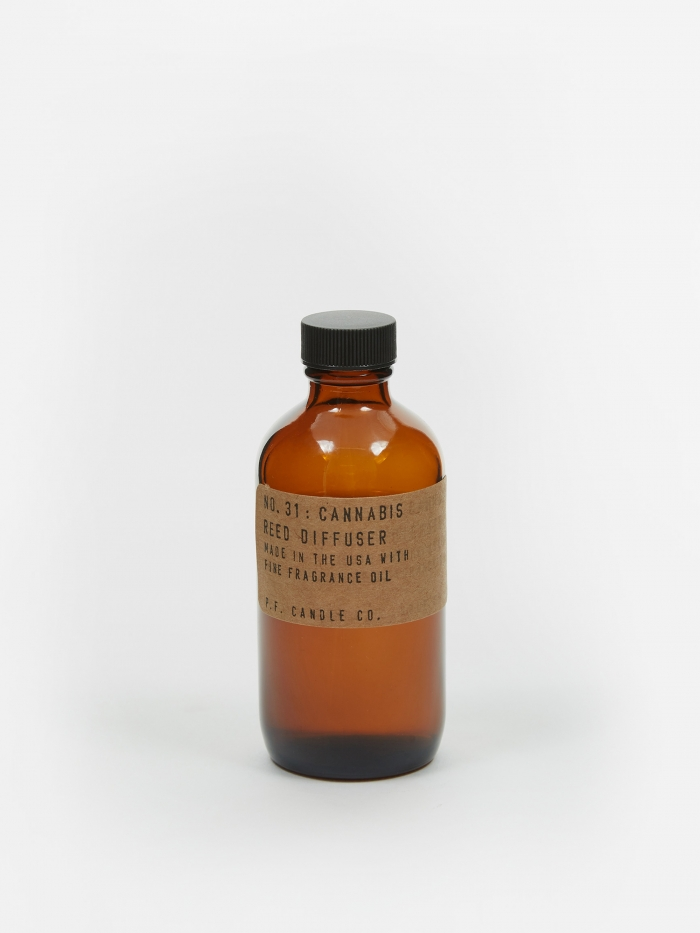 P.F. Candle Co. No. 31 Cannabis 3oz Reed Diffuser (Image 1)