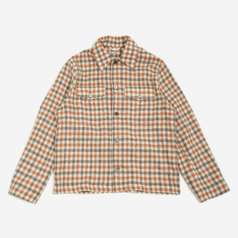 Evening Coach Jacket - Wool Check