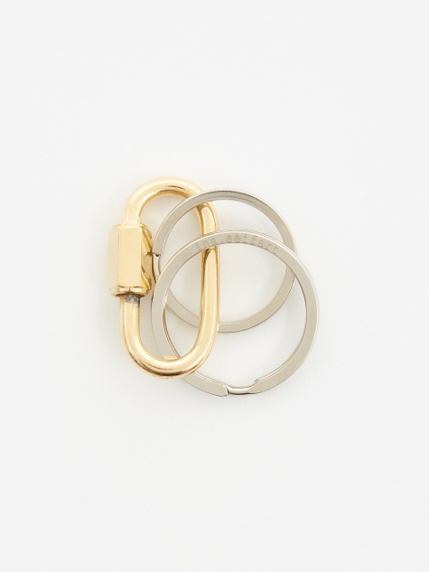 S-Karabiner Mini Key Holder - Gold