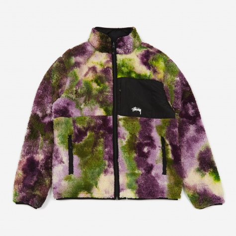 Rev Micro Fleece Jacket - Tie Dye