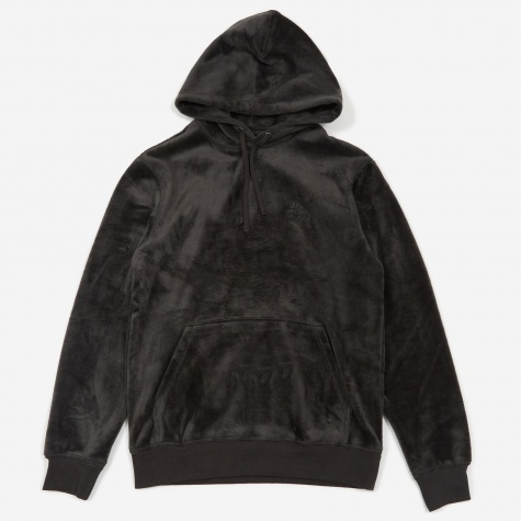 Pile Fleece Hood - Black