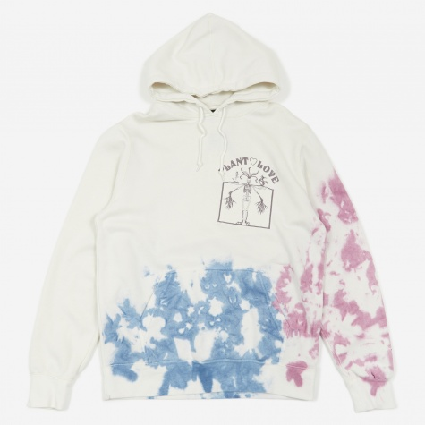 Plant Love TD Hooded Sweatshirt - Natural/Purple