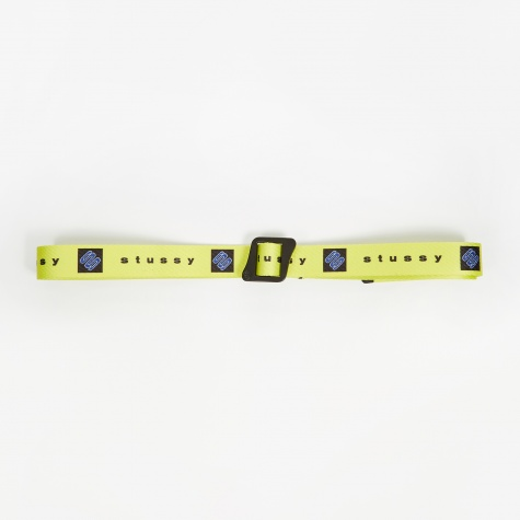 Printed Web Climbing Belt - Yellow