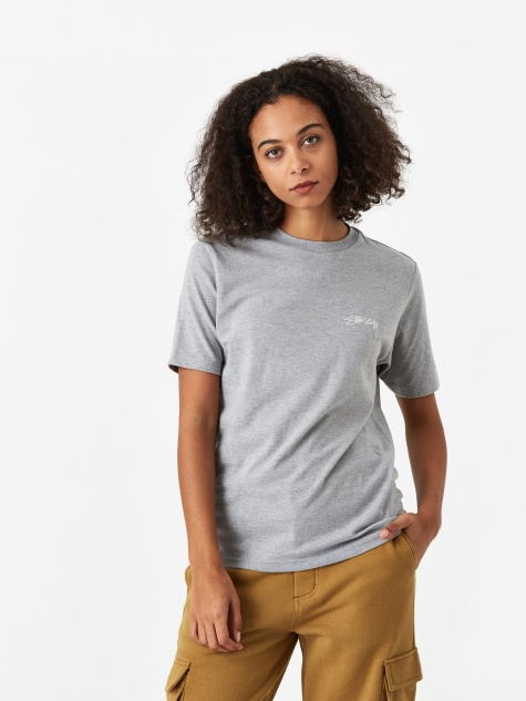 Smooth Stock T-Shirt - Grey Heather