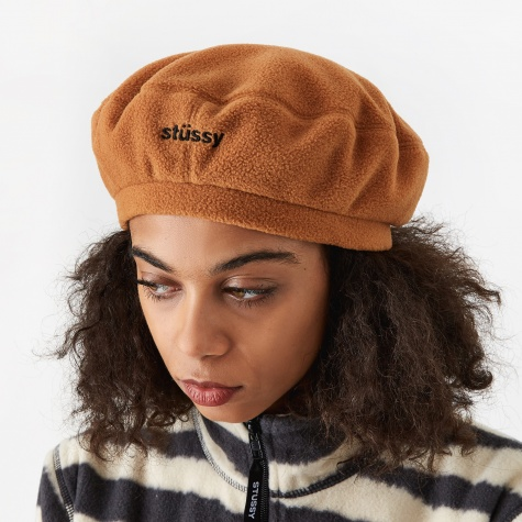 Bristol Polar Fleece Beret - Tobacco
