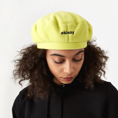 Bristol Polar Fleece Beret - Lemon