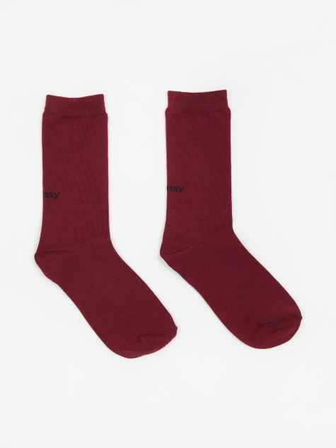 Everyday Socks - Burgundy