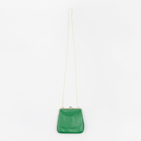 Vita Kisslock Purse - Green