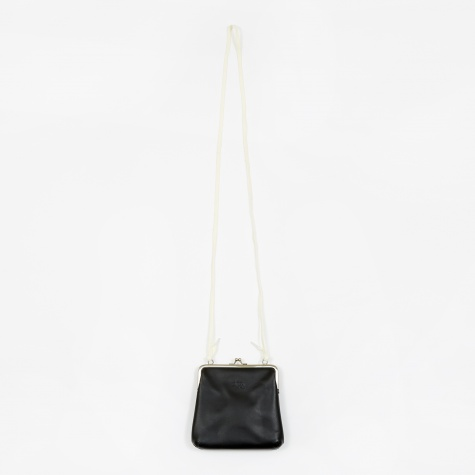 Vita Kisslock Purse - Black