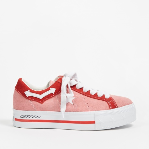 x MadeMe Platform One Star - Pink Icing/Tomato/White