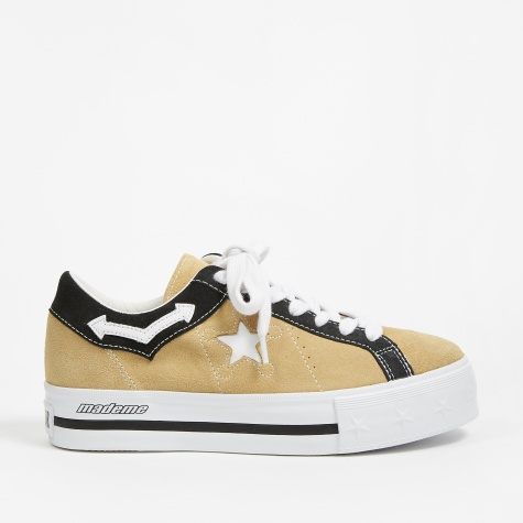 x MadeMe Platform One Star - Wood Ash/White/Black