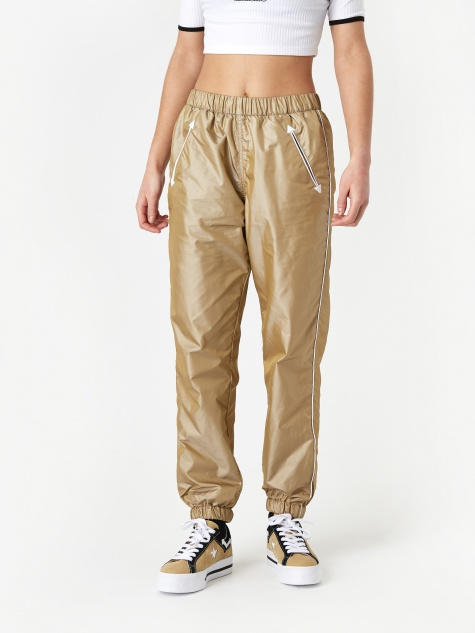 x MadeMe Western Track Pant - Taupe Suede