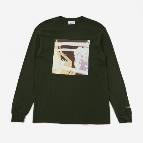 Voyeur 3 Longsleeve T-Shirt - Forest Green