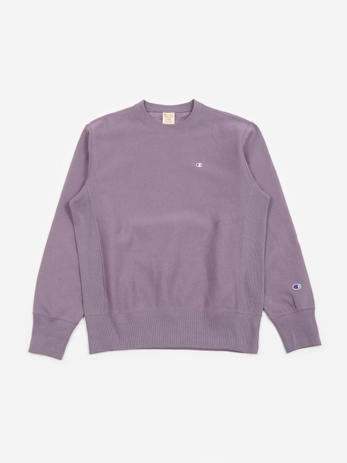 Champion Reverse Weave Crewneck Sweatshirt - Purple (Image 1)