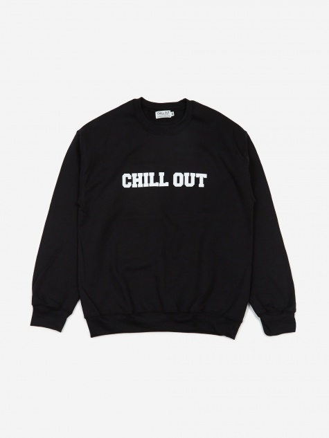 Logo Sweatshirt - Black/White Print
