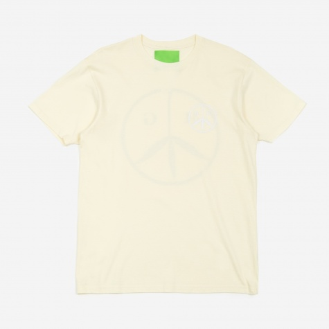 Peace T-Shirt - Off White/White/Table Wine