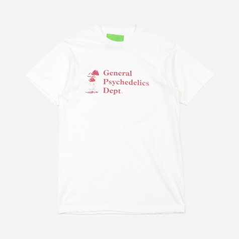 General Psychedelics T-Shirt - White/Table Wine