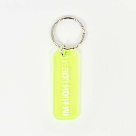 I'm High Lol Keyring - Translucent Green
