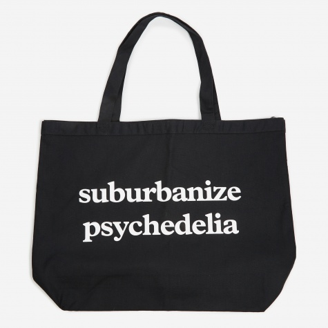 XL Trifecta / Suburbanize Tote Bag - Black/White