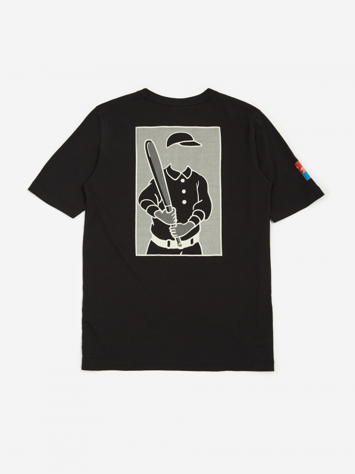 Reverse Weave X Wood Wood T Shirt   Black by Champion