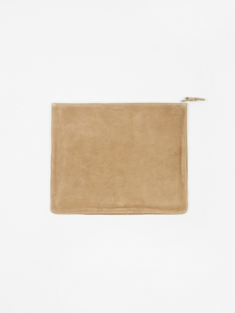 Pocket L Wallet - Beige