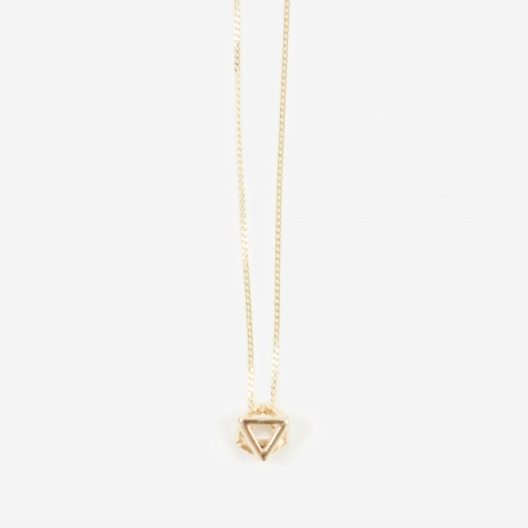 Octa Mini Pendant - 9ct Yellow Gold