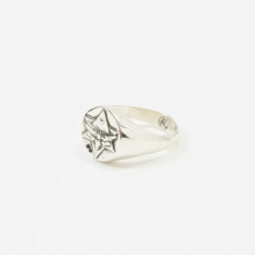 Rachel Entwistle The Lunar Signet Ring - Sterling Silver
